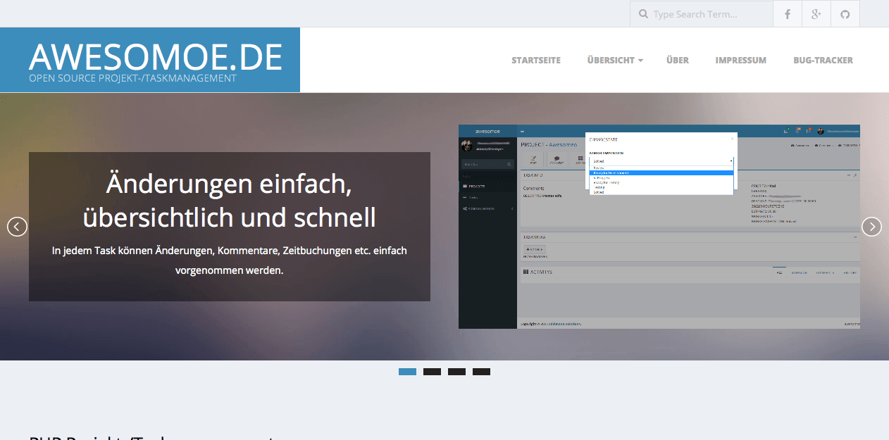 awesomoe Website von webdesign Freiburg