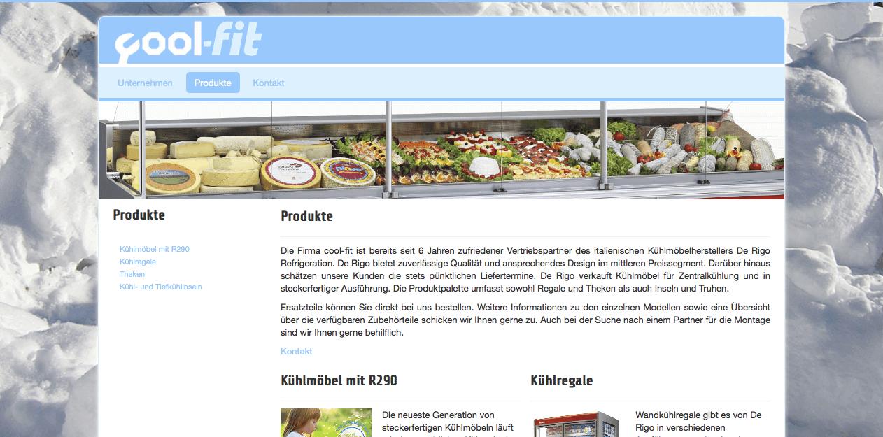 Joomla Minipage von Webdesign aus Freiburg